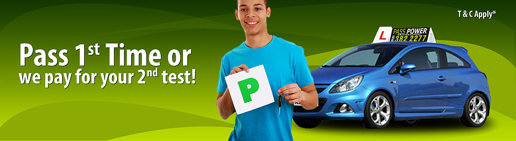 Pass 1st time or we pay for your 2nd test