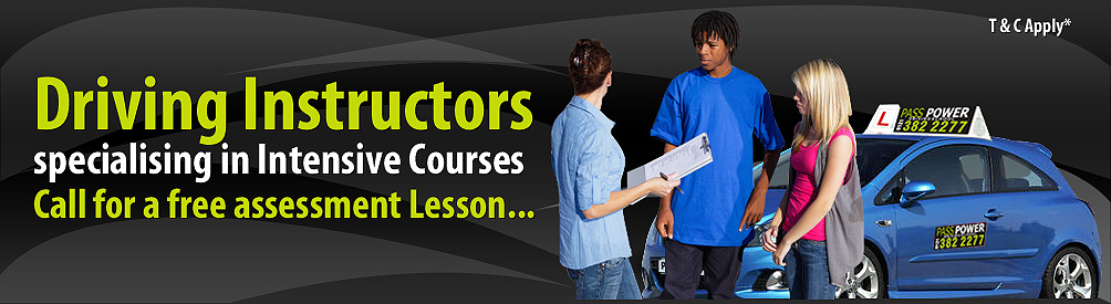 Driving Instructors specialising in Intensive Courses